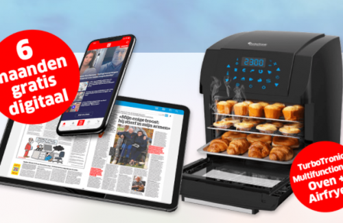 Win 6 maanden HlN op puier of een multifunctionele oven plus airfryer